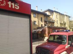 zerbino in fiamme Legnano via torino