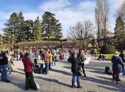 A Varese la manifestazione contro la chiusura delle scuole