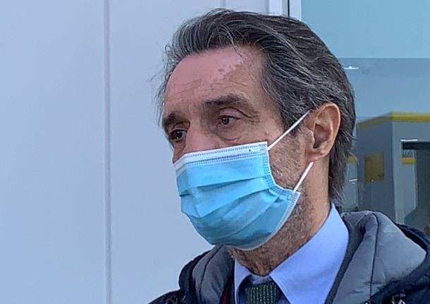 Attilio Fontana a Malpensa