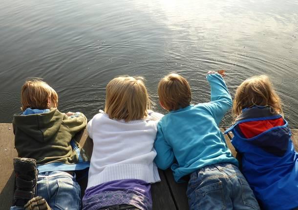 bambini lago weekend
