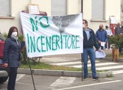 Busto Arsizio - Manifestazione per la chiusura dell'inceneritore Accam