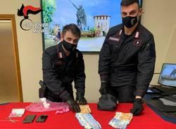 Carabinieri Legnano spaccio di droga marzo 2021