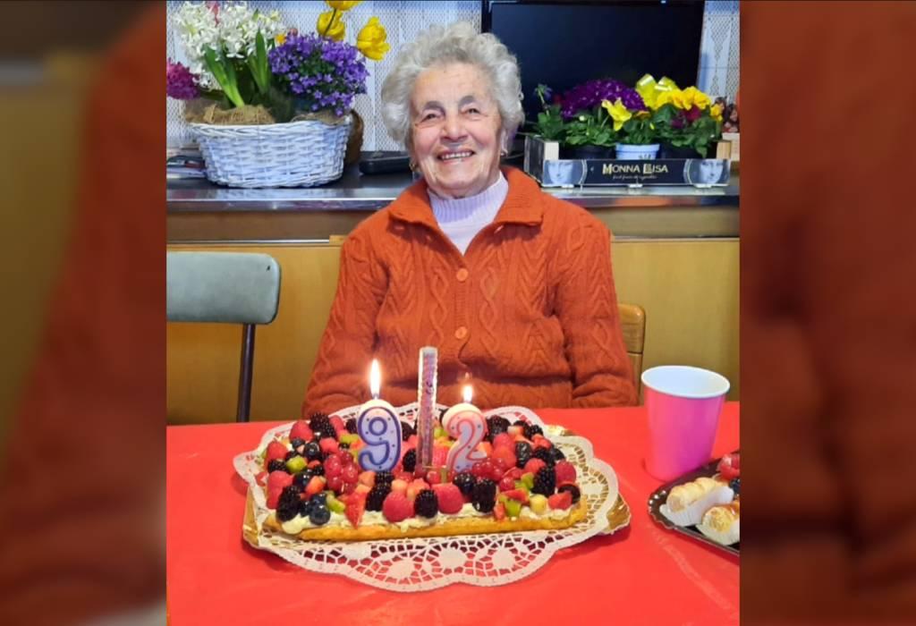 Buon compleanno nonna Lina!