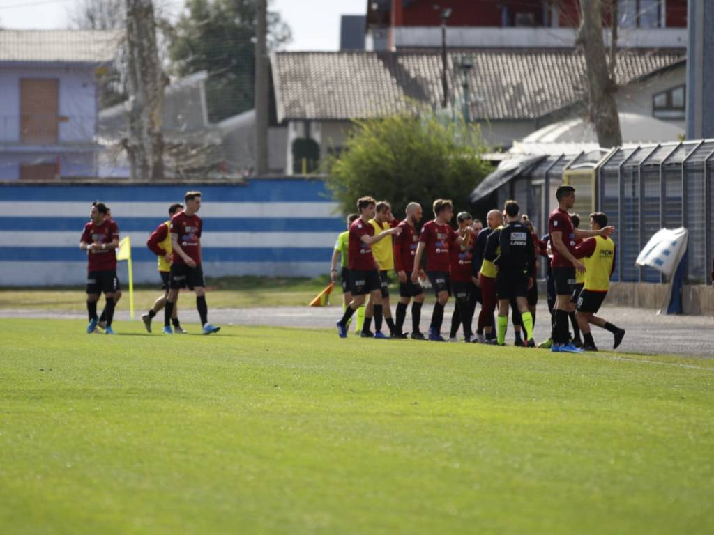Calcio: Pro Patria - Pontedera
