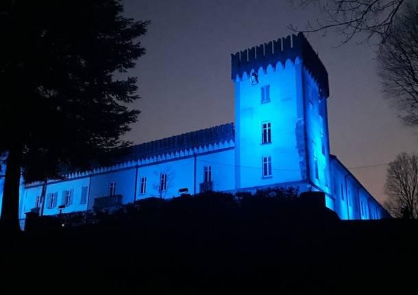 Luci colorate per il Castello di Monteruzzo