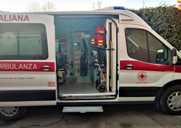 Croce Rossa Legnano - ambulanza Sergio Luraschi