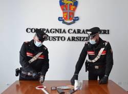 droga carabinieri busto