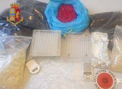 Droga in un box a  Baranzate - operazione del 30 marzo
