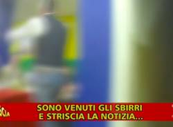 festa negazionista francesco tomasella striscia la notizia