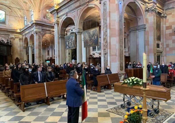 Il funerale di Pietro Magistrelli