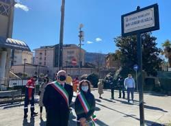 Inaugurazione piazza Lavena Ponte Tresa