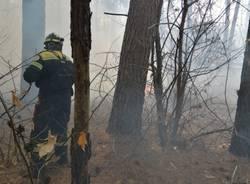 Incendio Coarezza marzo 2021