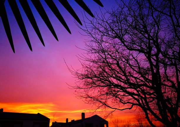 L'alba colorata del 3 marzo