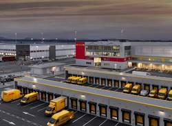 L'inaugurazione del nuovo hub Dhl  a Malpensa