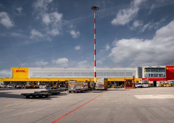 Inaugurato il nuovo hub DHL a Malpensa