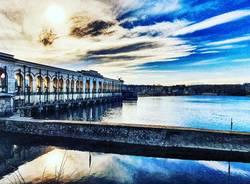 La diga del Panperduto a Somma Lombardo - foto di Katia Casale