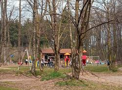 Parco Alto Milanese fuochi e affollamenti