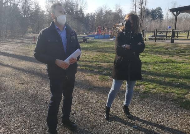 130 nuove piante al Parco Alto Milanese