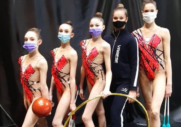 polisportiva varese 2021 ginnastica ritmica