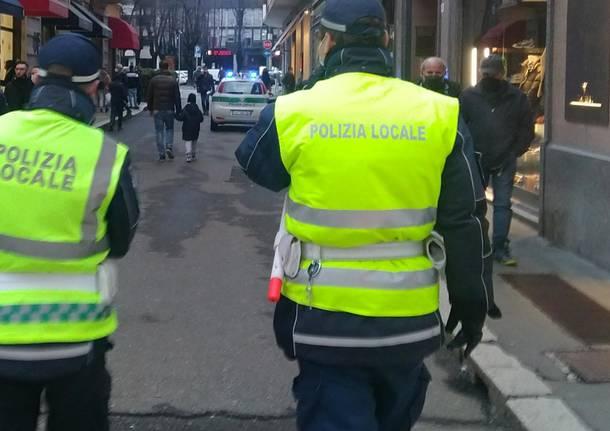 Polizia Locale controlli legnanno