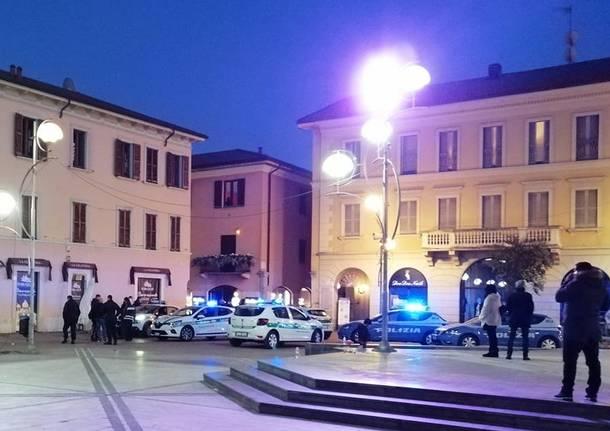polizia piazza santa maria centro busto arsizio