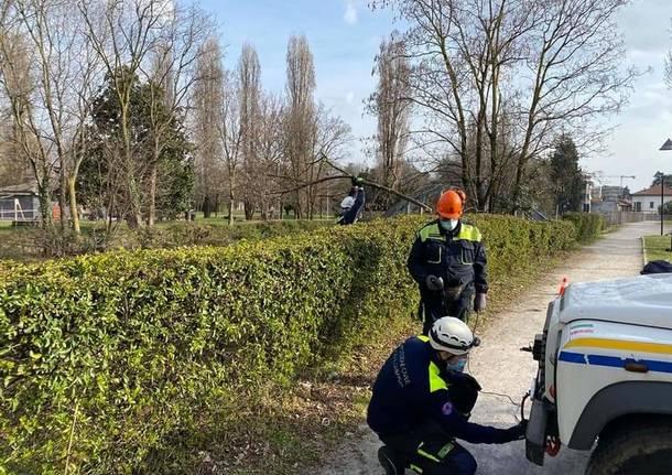 Prociv Legnano recupero bici Olona