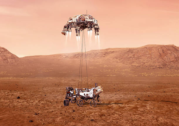 rover nasa perseverance marte