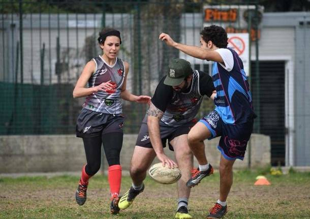 Rugby Touch i black Devils