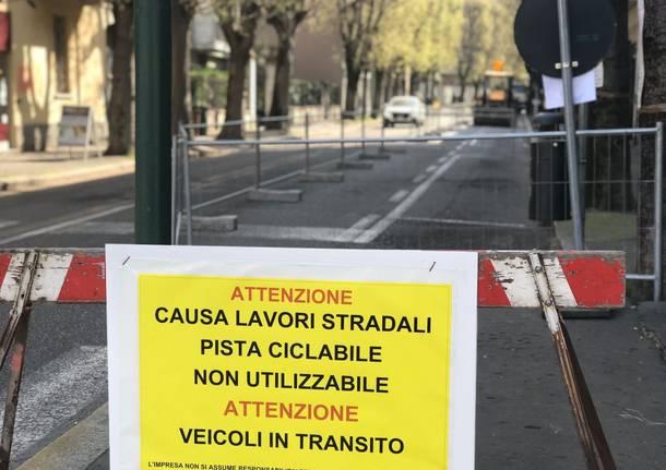 Saronno, al via i lavori per la riqualificazione di via Roma