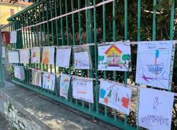 Scuola protesta Crenna Gallarate