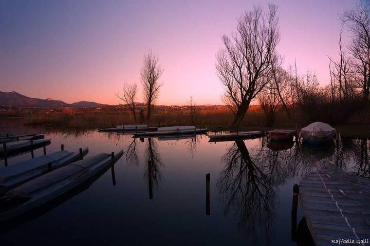 Tramonto sul Lago di Varese