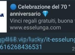 """Truffa """"Link  Esselunga"""""""