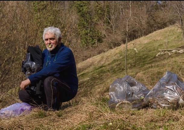 Ultimo weekend di zona gialla a ripulire il Sacro Monte
