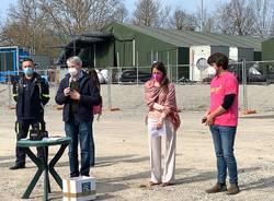 """Varese - Incontro con i giovani volontari di """"Ghe semm"""" alla Schiranna"""