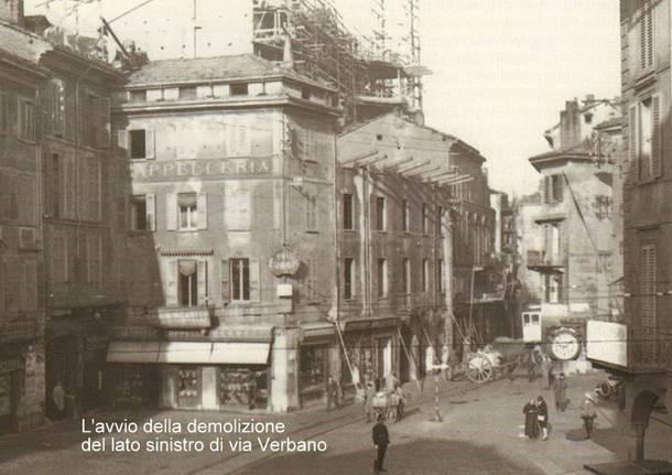 Varese Metamorfosi urbana: la genesi  tra Art Decò e Novecentismo  dell'attuale via Marcobi