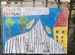 Vogliamo tornare a scuola: i disegni dei Bambini alla Morandi