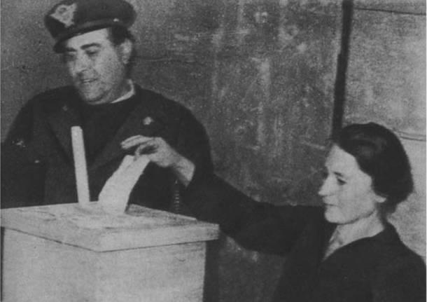 voto donne elezioni marzo 1946