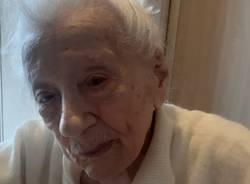 Zia Irene, compie 100 anni