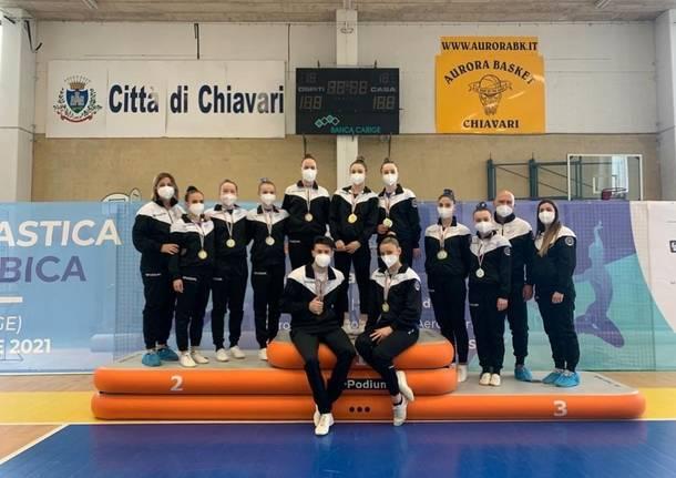 Aerobic Fusion Legnano, doppio oro per Castoldi-Donati