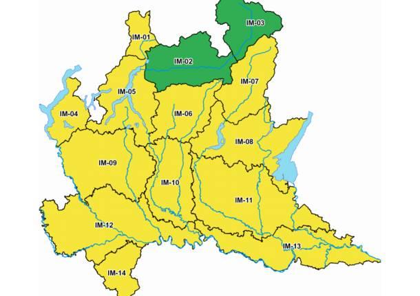 allerta gialla regione lombardia
