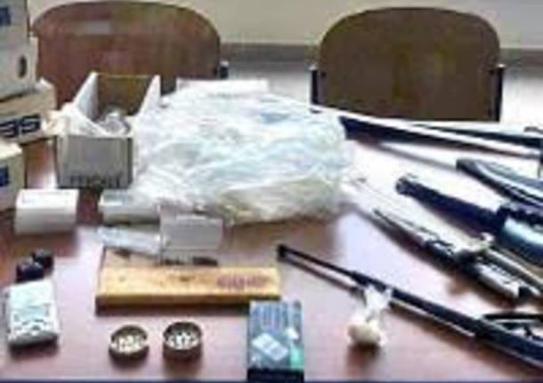 arresto per detenzione droga