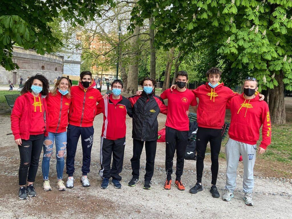 Atletica S.V.O. al Trofeo Nazionale Atletica Meneghina