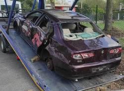 auto abbandonate varese