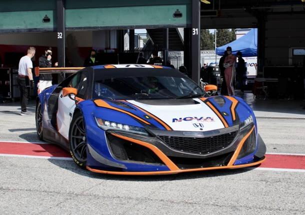 automobilismo nova race honda nsx