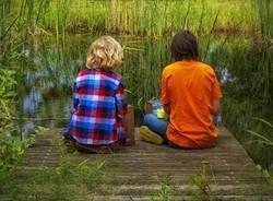 bambini lago