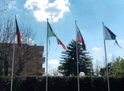 bandiere monumento caduti cecoslovacchi solbiate olona