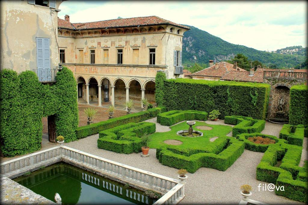Bisuschio, Villa Cicogna - foto di Fil-Va
