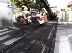 Cantiere in via Piave a Nerviano