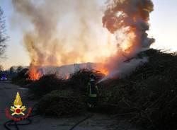 Incendio ad Angera