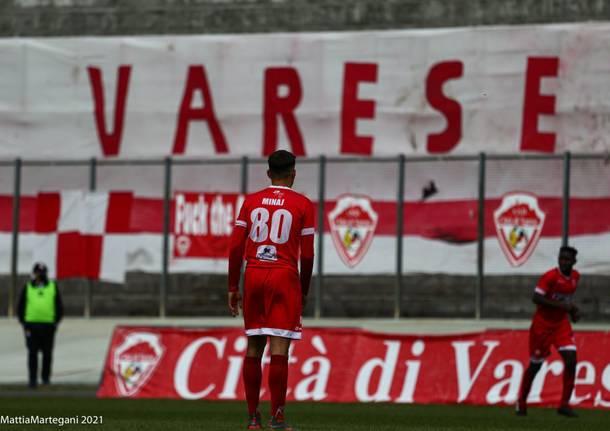 Calcio: Varese – Lavagnese 2-2